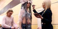 在頓河畔羅斯托夫舉行的俄羅斯美髮錦標賽