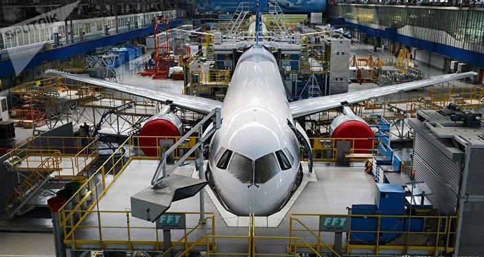 俄副总理:首架量产型MS-21客机将采用PD-14发动机