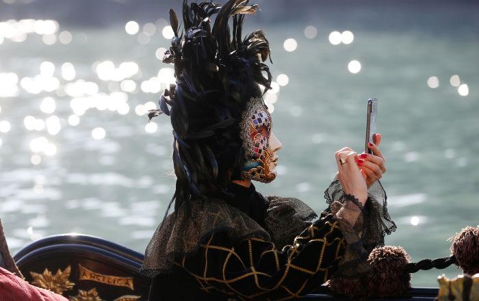 威尼斯狂欢节开幕
