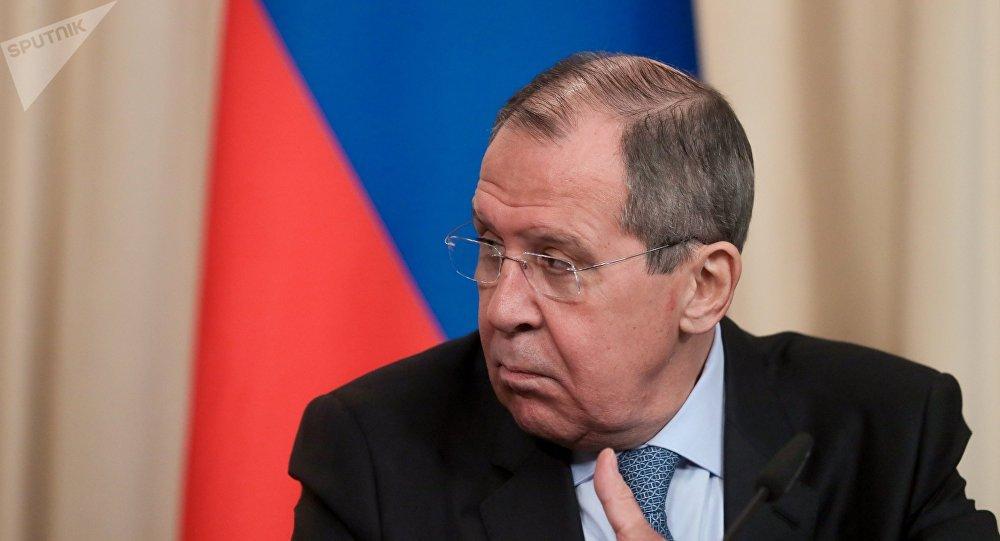 俄罗斯外交外长拉夫罗夫