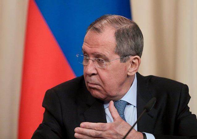 俄外长称RT项目的脸书账号被封是俄媒遭打压的实例
