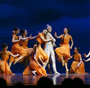 中国传统舞剧《长风啸》