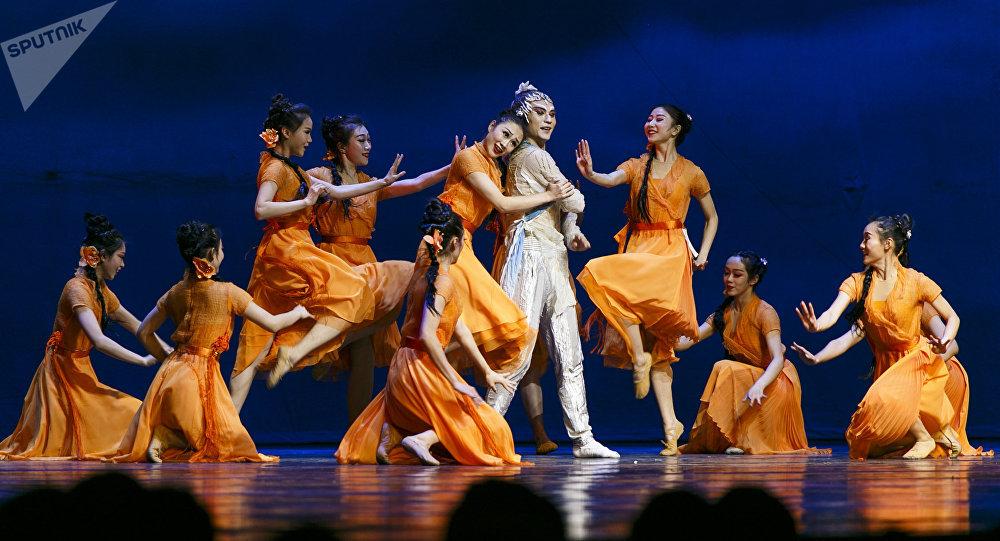 中國傳統舞劇《長風嘯》