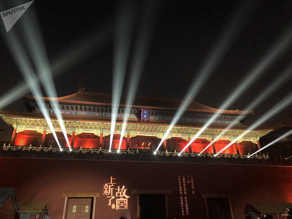 元宵節夜遊紫禁城:故宮首次夜間開放