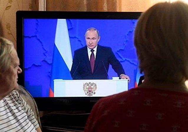 普京:俄羅斯在人口問題上進入艱難時期
