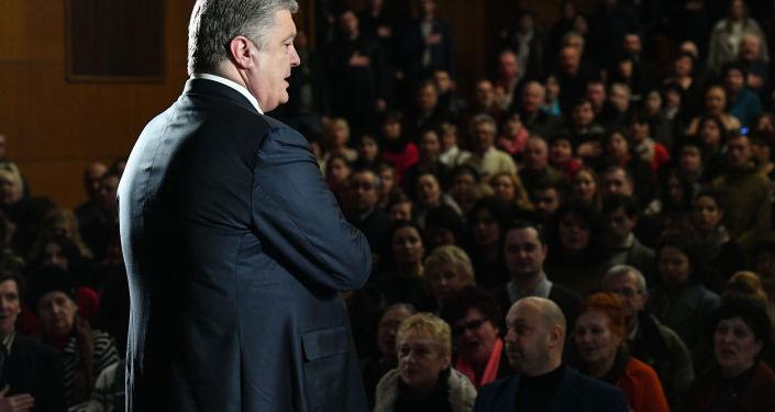 乌总统波罗申科承诺不会再任命自己的生意伙伴和朋友担任公职