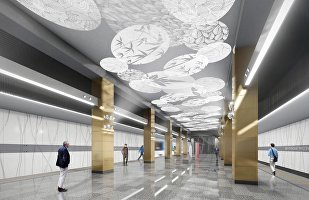 莫斯科将出现中国风格地铁站