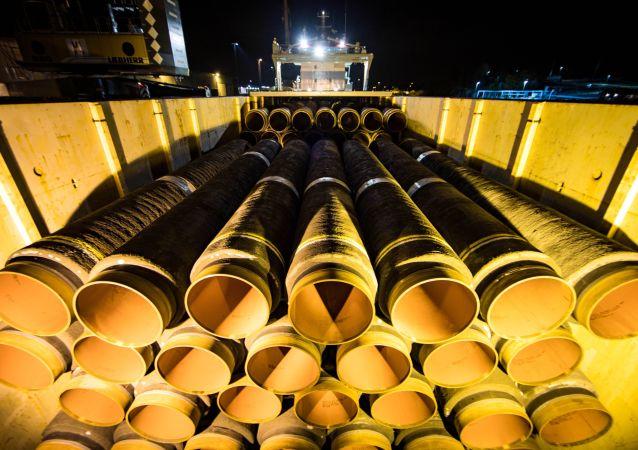 德國總理:歐盟委員會無法阻止落實「北溪-2」號天然氣管道項目