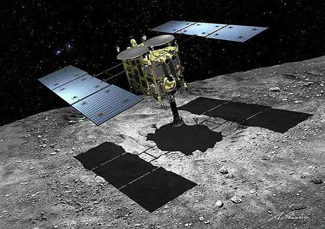 日本「隼鳥2號」深空探測器