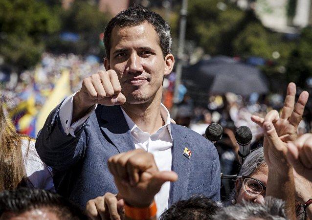 委内瑞拉反对派领导人瓜伊多