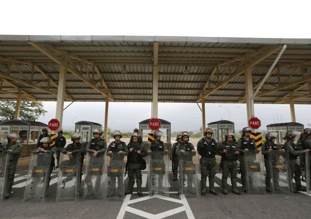 委内瑞拉与哥伦比亚边境移民参与的冲突仍在继续