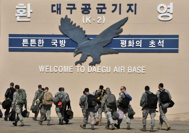 特朗普称不打算与金正恩讨论美军从韩国撤出问题
