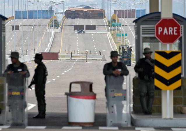 哥倫比亞外長稱運載人道主義物資的卡車將返回