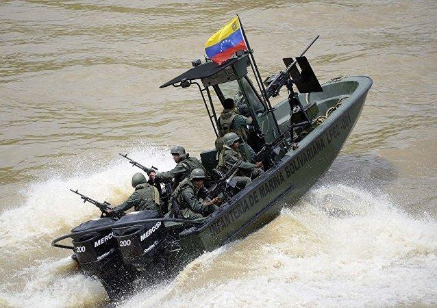 媒体:委内瑞拉海军威胁对来自波多黎各的人道主义援助运输船开火