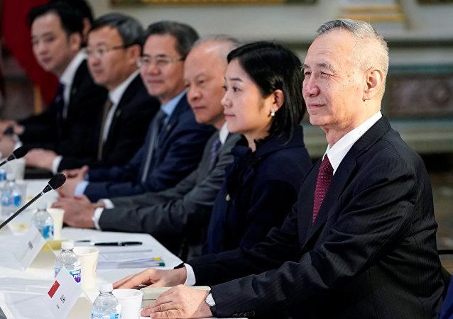 刘鹤:中美经贸谈判并未破裂 未来还将继续