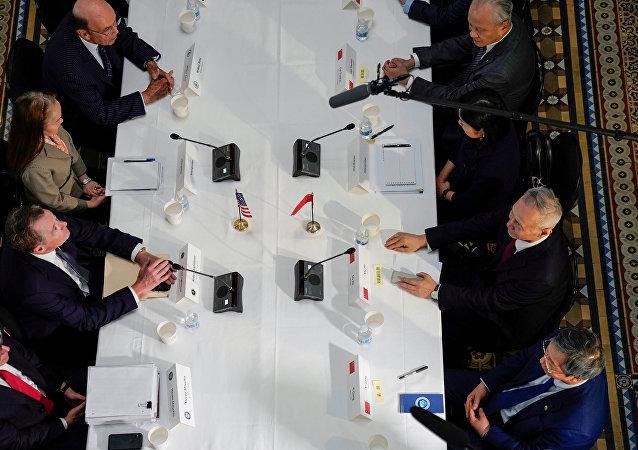 美国贸易代表与财长下周将与中国进行贸易谈判
