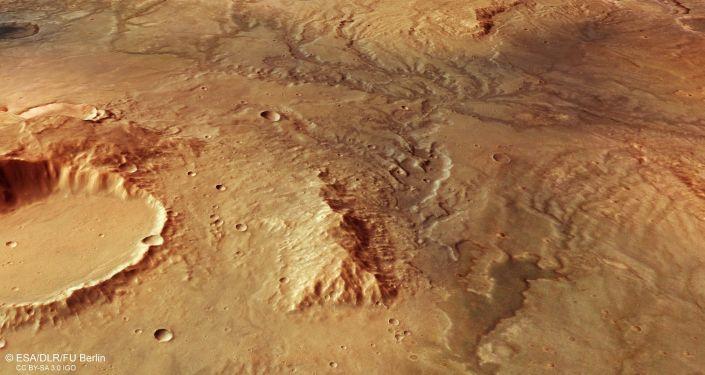 火星地下水系统