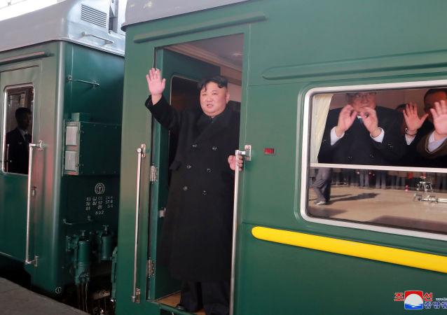 克宮:金正恩訪俄問題早就在討論和籌備中
