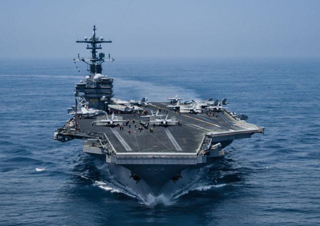 """美国""""乔治·H·W·布什号""""航空母舰"""