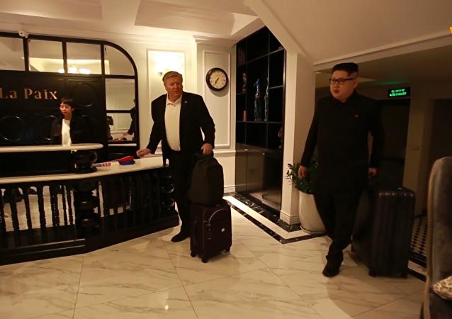 美朝峰会前夕金正恩模仿者被赶出越南