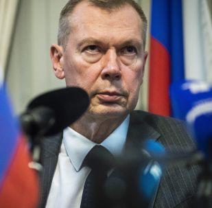 Представитель России при ОЗХО Александр Шульгин