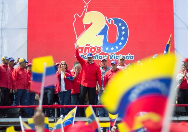 馬杜羅:超500萬人參加支持委內瑞拉政府的活動