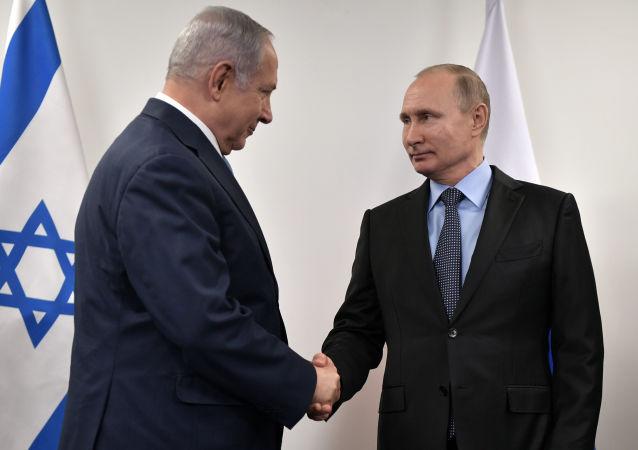 普京将于4日会见以色列总理