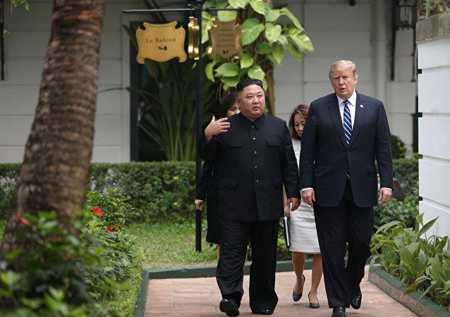 金正恩和特朗普一致同意再次會晤