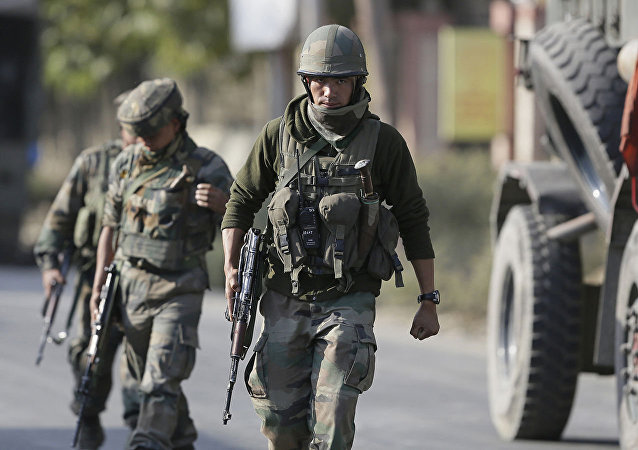 Индийские военные в штате Джамму и Кашмир