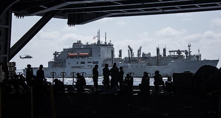 美國意圖常態化己方艦船穿越台灣海峽
