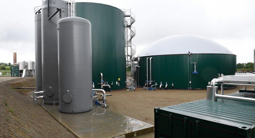 法國生物天然氣工廠(圖片資料)