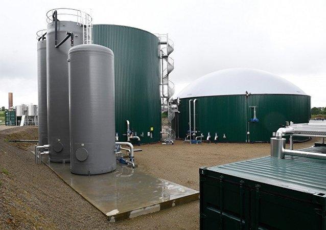 法国生物天然气工厂(图片资料)