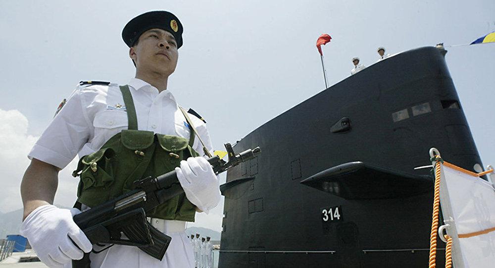 中国加强潜艇力量正削弱美国在亚太地区的地位