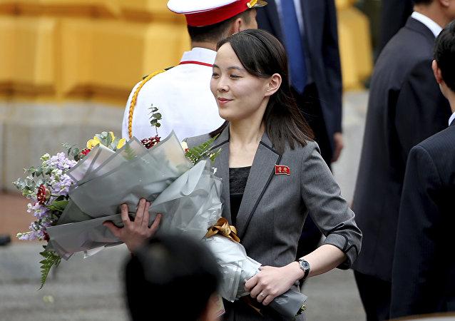 朝鮮領導人金正恩的胞妹金與正