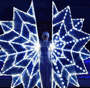 第二十九届世界大学生冬季运动会开幕式在俄克拉斯诺亚尔斯克开始
