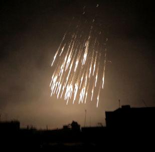 敘媒:國際聯軍空襲敘巴古斯時使用白磷彈