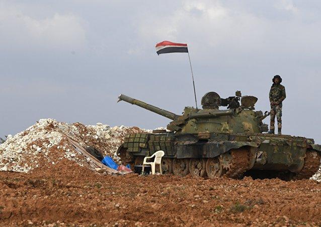 叙利亚政府军进入此前由库尔德人控制的北部城市曼比季