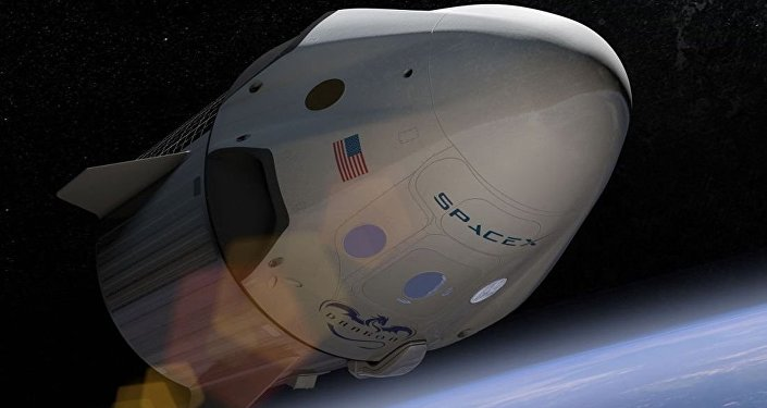 美國太空探索技術公司的「龍-2」飛船