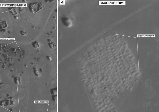 叙利亚鲁克班难民营旁发现300个新坟