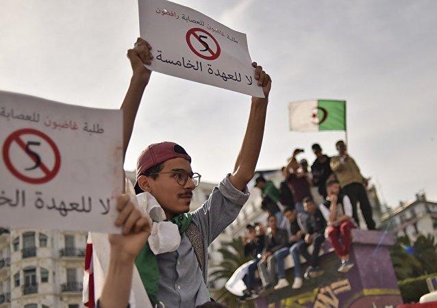 阿爾及利亞臨時總統指示7月4日舉行總統選舉