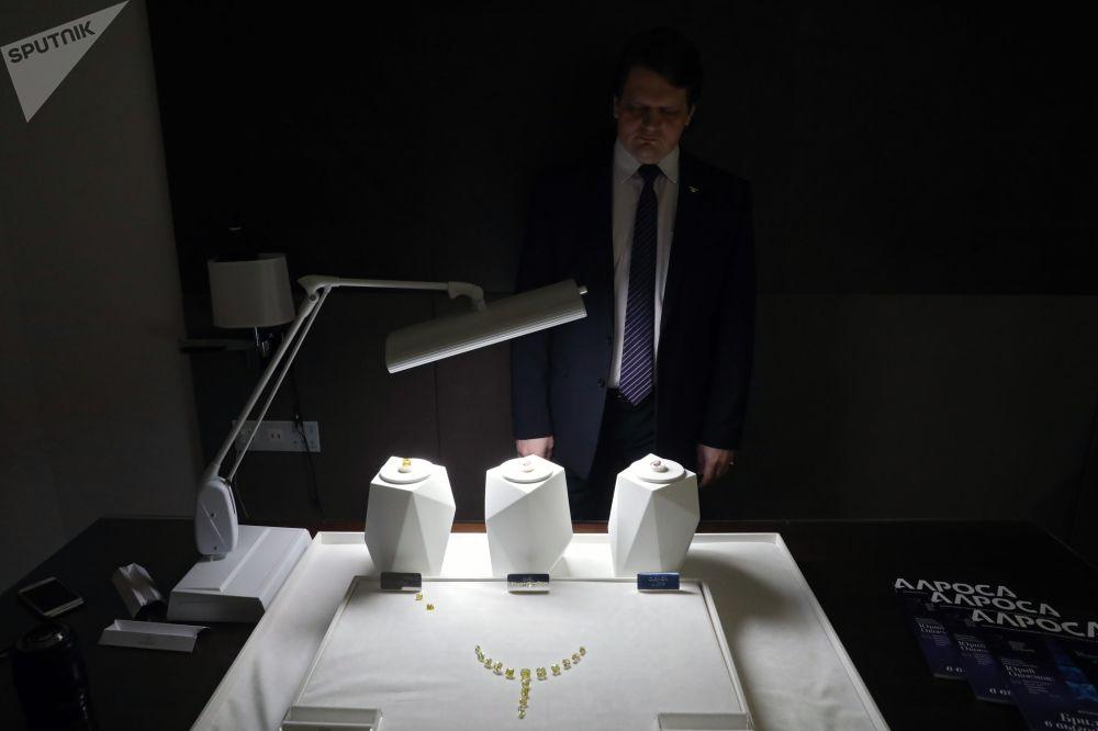 埃羅莎公司鑽石展