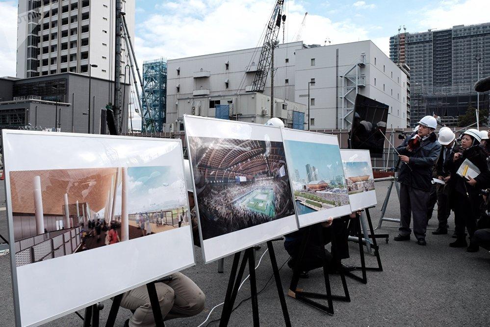 有明体操竞技场:目前场馆建设已完成62%。
