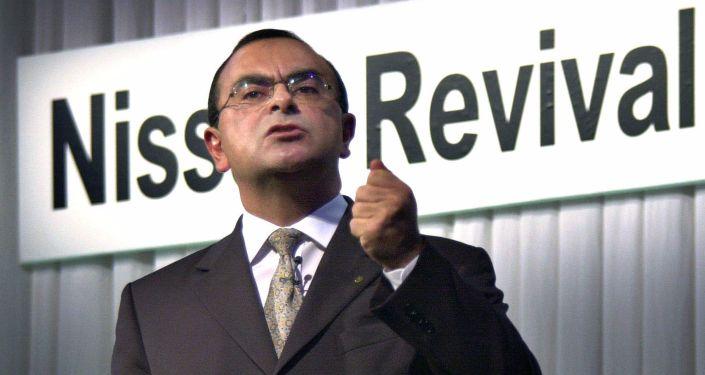 Глава Nissan Motor Карлос Гон