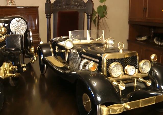 缝纫机?还是老爷车?