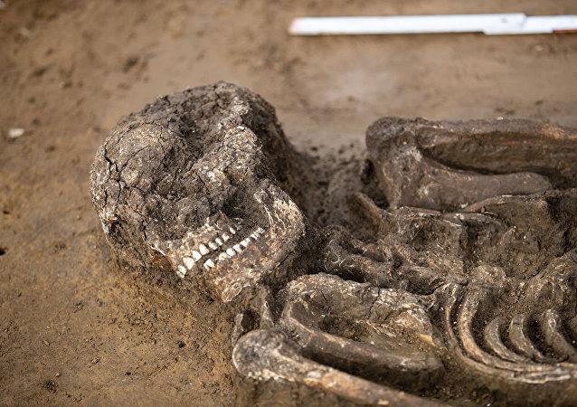 考古学家在巴伐利亚找到年龄为6500岁的人骨架