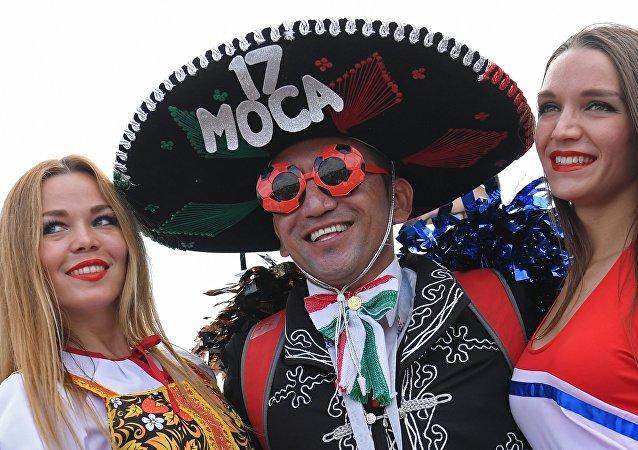 墨西哥球迷米(资料图片)