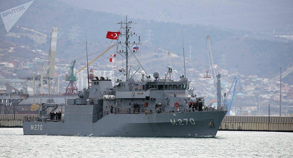 俄罗斯与土耳其在黑海举行联合演习