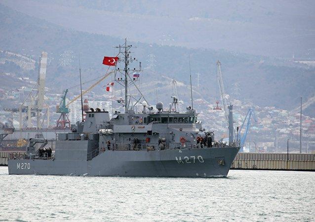 俄羅斯與土耳其在黑海舉行聯合演習
