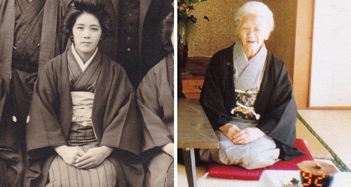 一位116歲的日本婦女被宣佈為世界最長壽老人