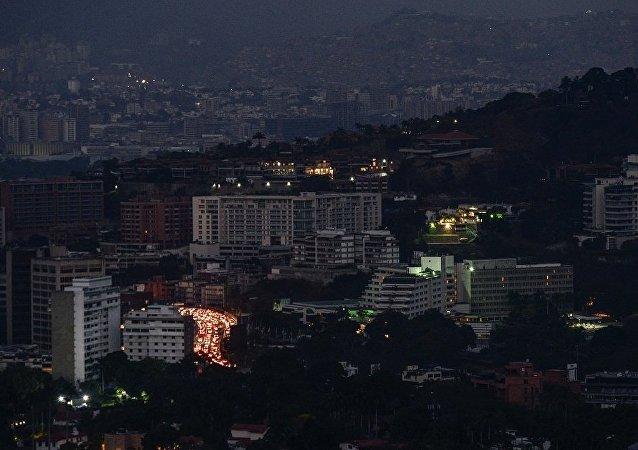 委内瑞拉政府因断电被迫宣布连续第五个休息日